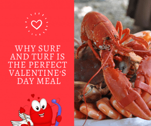Surf and Turf for Valentines Day