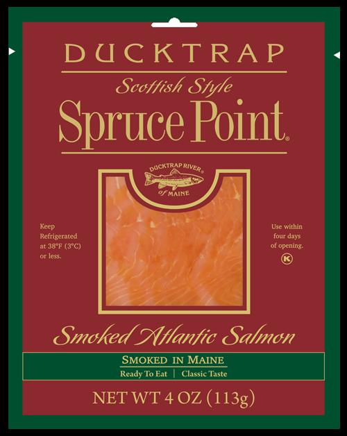 DT-Spruce-4oz Smoked Salmon