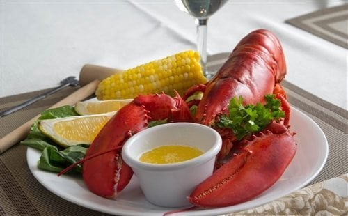 1 and 1/2 lb Maine Lobsters Pack of 7