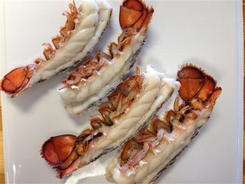 Split Maine Lobster Tails