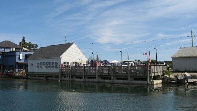 Cape Pier Restaurant In Kennebunkport Maine Menu Directions
