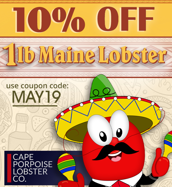May Maine Live Lobster Coupon