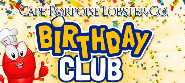 seafood birthday coupon